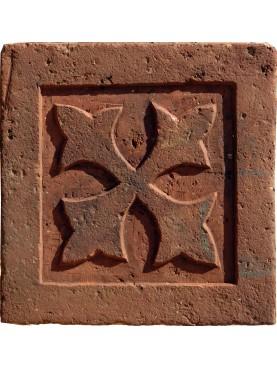 Terracotta tile medieval design