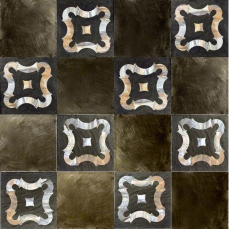 Paliotto ardesia e marmo per pavimento 4 pezzi al mq