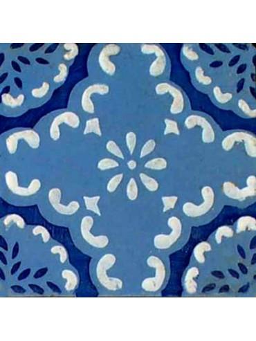 Majolica ancient tile