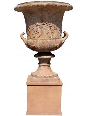 Vaso capitolino del Piranesi in terracotta
