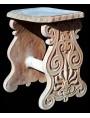 Terracotta stool