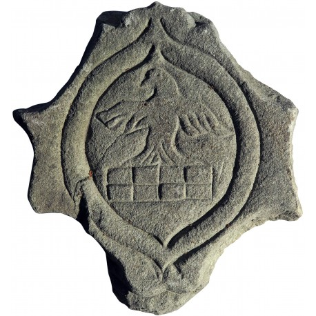 Stone coat of arms SAND-STONE
