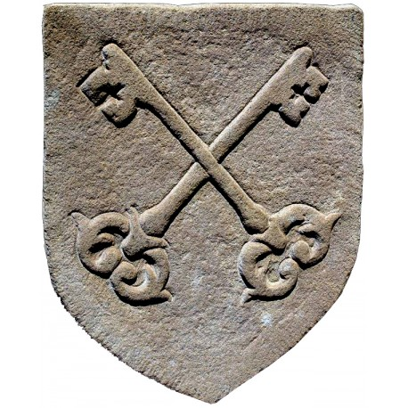 Stemma in pietra arenaria - vaticano