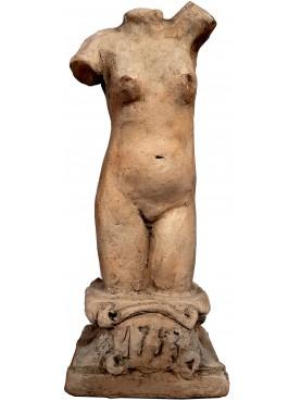 piccola Statuetta di Venere in terracotta con base