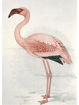 Fenicottero Flamingo pannello di 35 piastrelle