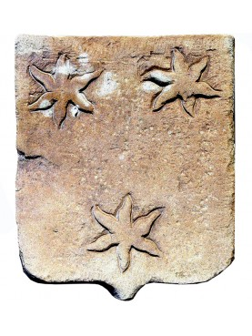 Stemma in pietra della famiglia Duranti di Firenze