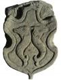 Copia di stemma nobiliare con delfini - costo 350€