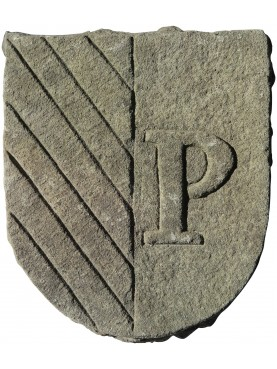 Coat of arms grey stone