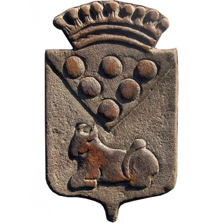 Cutted limestone coat of arms 450 €