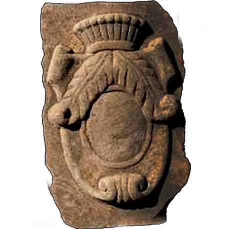 Copia di stemma nobiliare anonimo in pietra serena