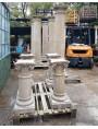 Five coated columns