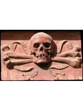 Skull and crossbones tile