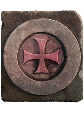 Middle age cross - Circled Maltese Cross
