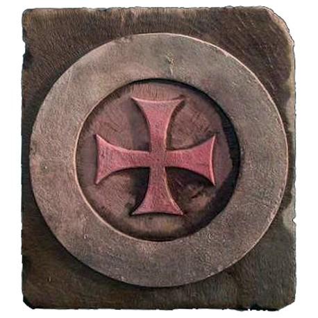 Croce medioevale - croce di Malta cerchiata