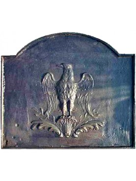 cast-iron Fireback eagle