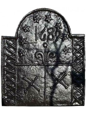 Fireback cast iron - eight pentacles