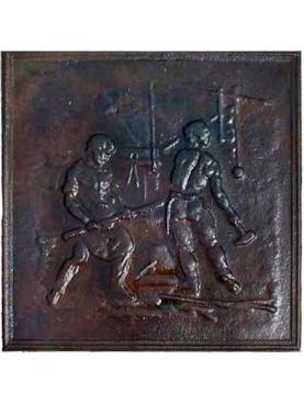 castiron Fireback - blacksmith