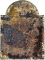 antica Lastra in ghisa per camino semplice