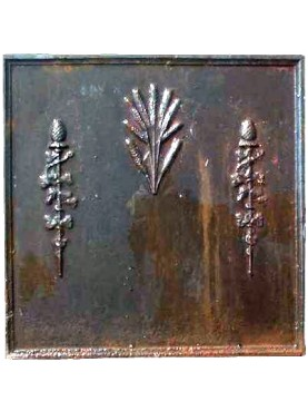 Fireback cast iron - emperor age