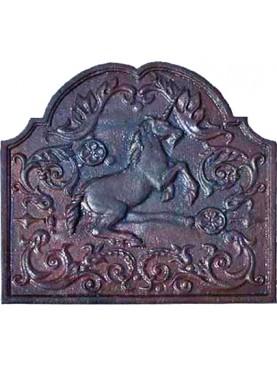 Fireback cast iron unicorn