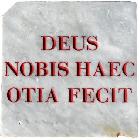 DEUS NOBIS HAEC OTIA FECIT - Gabriele D'Annunzio
