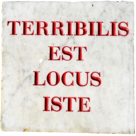 TERRIBILIS EST LOCUS ISTE - QUESTO LUOGO INCUTE RISPETTO
