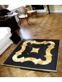 Piano per tavolo in ardesia e giallo Siena