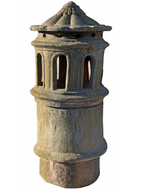 Copy of large chimney pot Øint.21,5cms