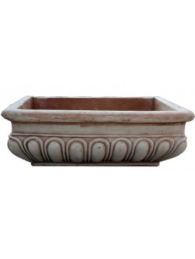 Big terracotta sink
