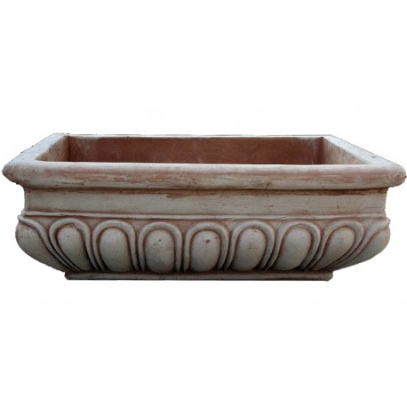 Big terracotta sink