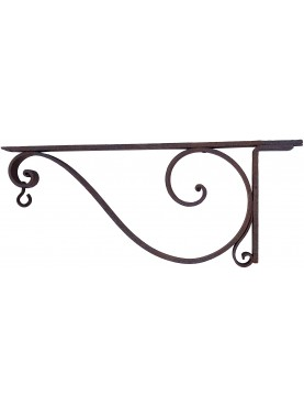 beautifull Simple forged iron bracket 87cms