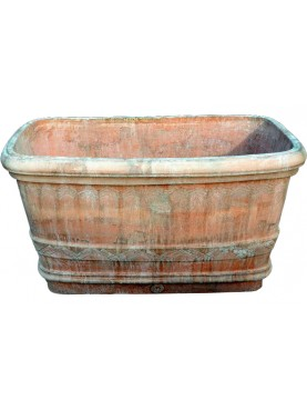 Large Terracotta flowers box