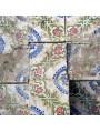 Piastrella di maiolica antica Napoletana