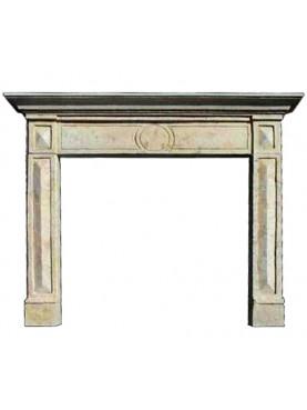 Castellini Provera fireplace 1 limestone