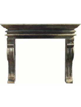 Kraigh fireplace - renaissance - sand-stone