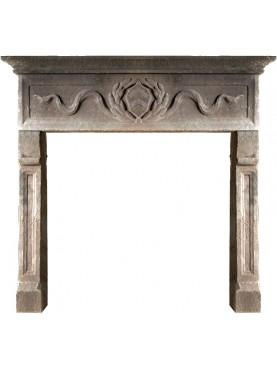 Fireplace from Garfagnana - sand-stone