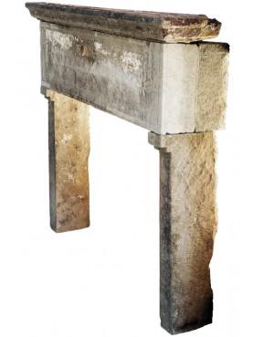 Sandstone Italian small fireplace