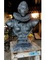 Busto di Cosimo II dei Medici in terracotta patinata a bronzo