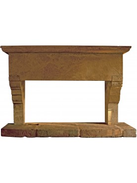stone Fireplace for kitchen