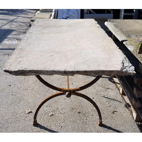 Tavoli Antichi Da Cucina Con Marmo.Piani Antichi In Pietra Per Tavoli Da Giardino Recuperando