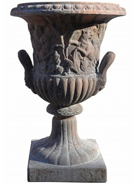 Terracotta ornamental vase from Florence