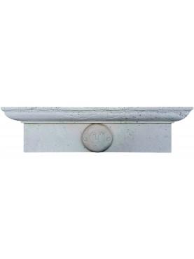 Architrave Lunigiana - pietra bianca calcarea