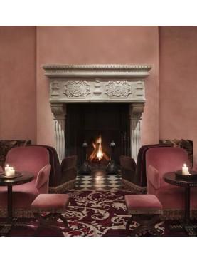 Il camino dell'GRAMERCY PARK HOTEL di new York - LIMESTONE
