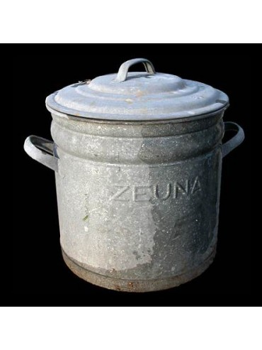 ZEUNA kitchen zinc pot - Recuperando