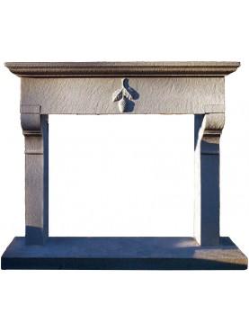 DI RONZA fireplace sandstone