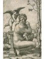 Crouching Venus engraved by Marcantonio Raimondi, 1505-06: which Roman marble furnished the model