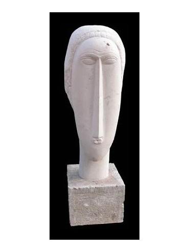 Amedeo Modigliani head reproduction