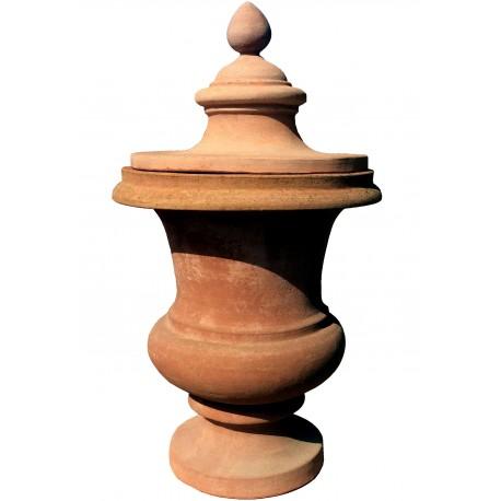 Grande vaso ornamentale in cotto DELL'IMPRUNETA
