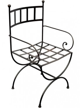 Versilia Chair with armrests