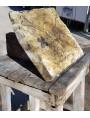 Memento mori - scultura graffita su marmo statuario di Carrara